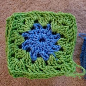 "Crochet granny Squares 8"""